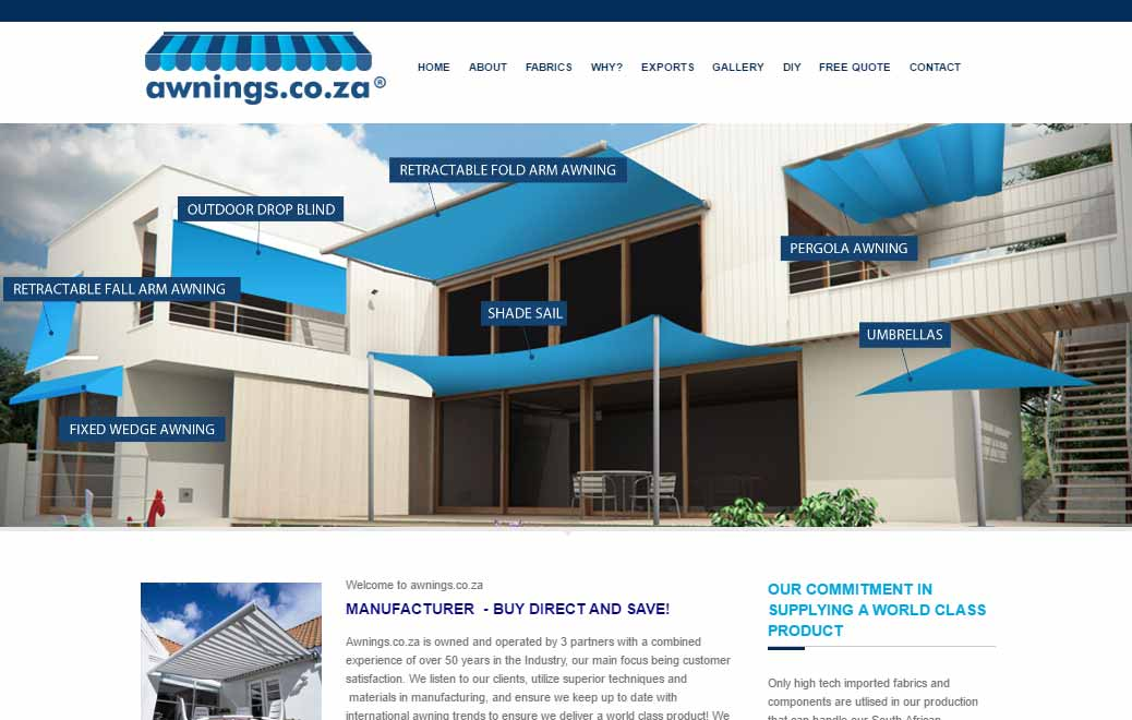Awnings Link