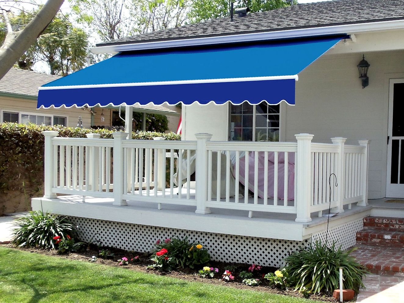 Retractable Awning Matrix Outdoor Blinds